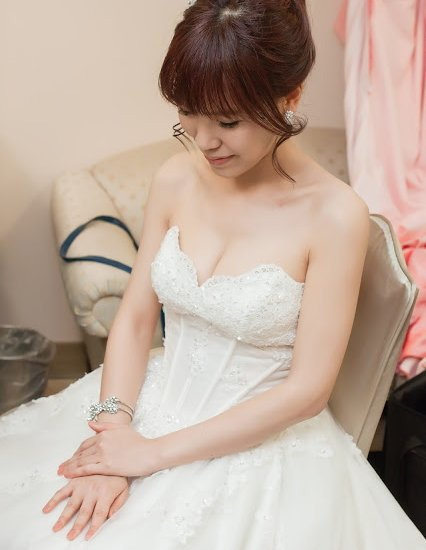 [婚宴造型] Eva | 員林。昇財麗禧飯店